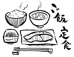 食べ物のフリーイラスト素材