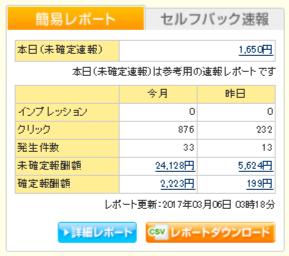 A8.netの報酬画面