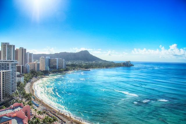写真AC フリー素材 ハワイ