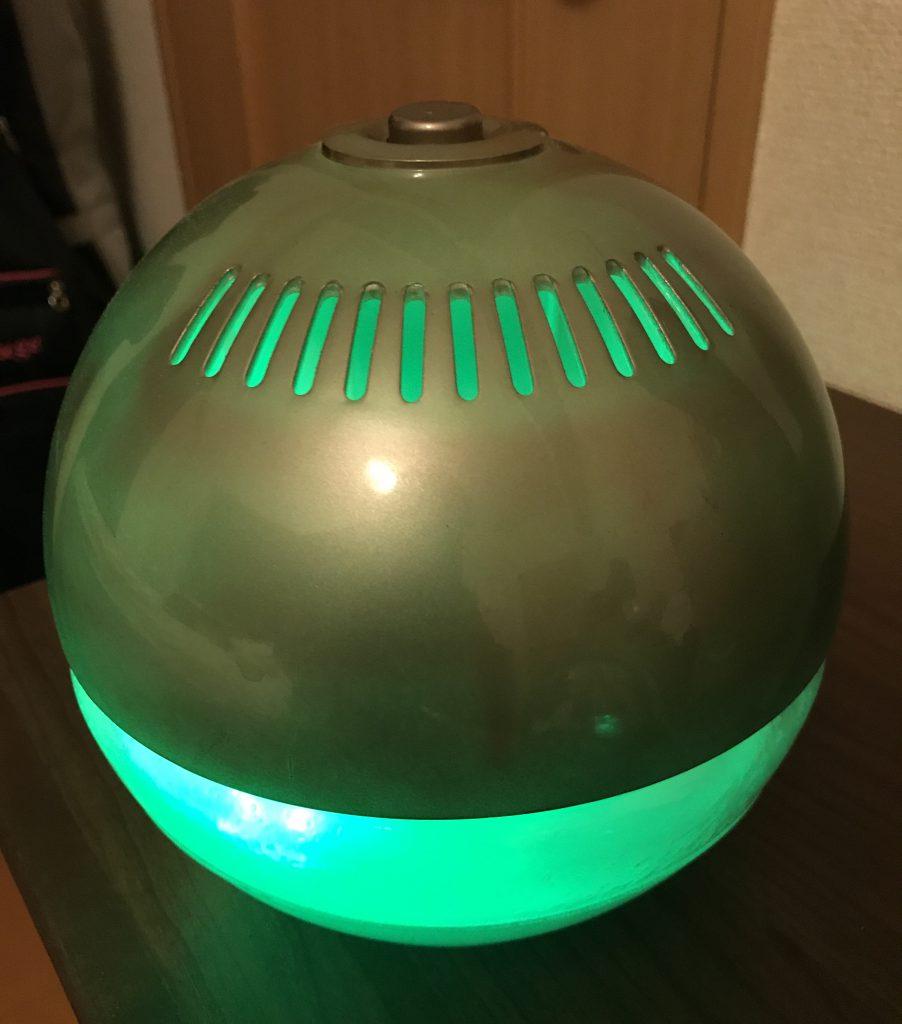 球体の加湿器